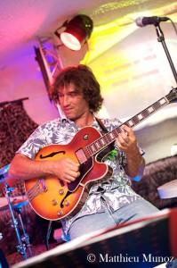 Frederic Garcia guitariste de Courvite-isabelle